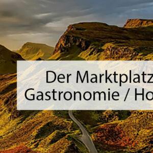 Online-Marktplatz für die Gastronomie und Hotellerie